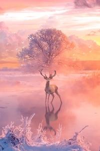 Reindeer Fantasy Arts