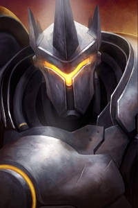 1080x2280 Reinhardt Reaper Soldier 76 Overwatch Artwork