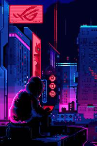 1125x2436 Republic Of Gamers 8 Bit