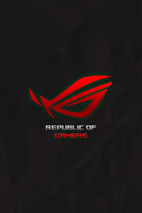 1080x2280 Republic Of Gamers Minimal 4k