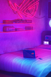 1125x2436 Republic Of Gamers Room 4k