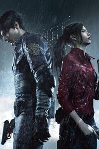 320x480 Resident Evil 2 2019 4k