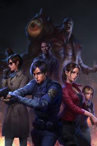 Resident Evil 2 Art