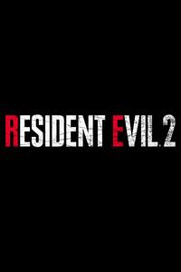 Resident Evil 2 Logo 4k