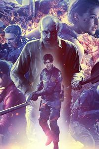240x400 Resident Evil 25th Anniversary