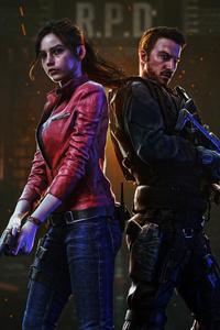 1242x2688 Resident Evil 4k 2020