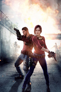 Resident Evil Claire Redfield Chris Redfield 4k