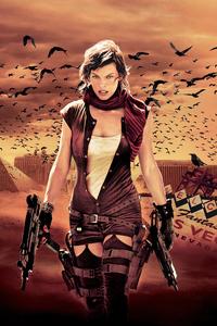 1242x2688 Resident Evil Extinction 2007
