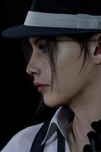480x854 Resident Evil True Detective 5k