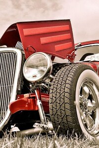 480x854 Retro Car