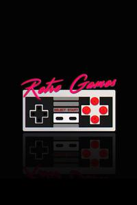 Retro Game Casette 4k
