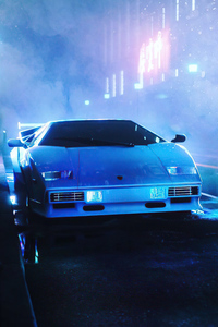 Retro Lamborghini Outwalk