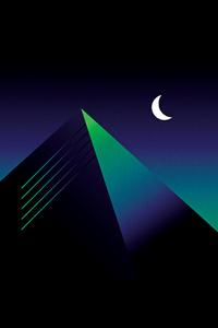 Retro Pyramid 4k