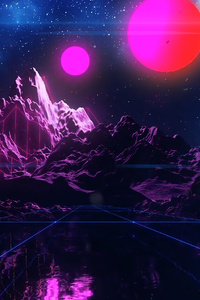 Retro Vapor Wave 4k