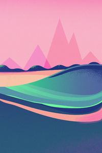 Retro Wave Artistic 4k