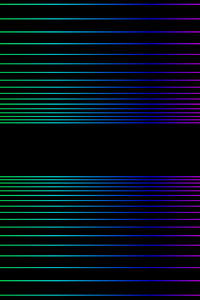Retro Wave Gradient Lines 8k