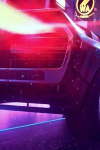 Retrowave Car