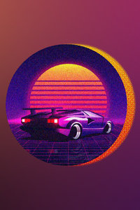 Retrowave 1080x1920 Resolution Wallpapers Iphone 7 6s 6 Plus Pixel Xl One Plus 3 3t 5