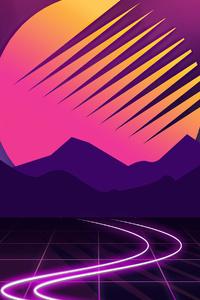 Retrowave Neon 4k