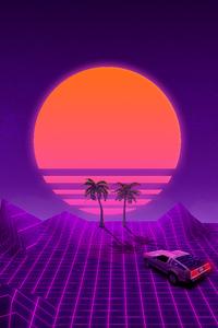 Retrowave Purple Dream