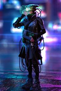 Retrunner Cyberpunk Scifi 4k