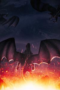 480x854 Return Of The Dragon 5k