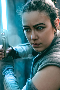 Rey From Star Wars The Last Jedi Cosplay