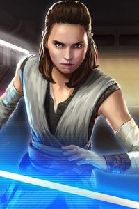 Rey Galaxy Of Heroes