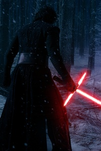 540x960 Rey Kylo Ren Finn In Star Wars