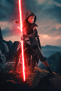 Rey Red Light Saber