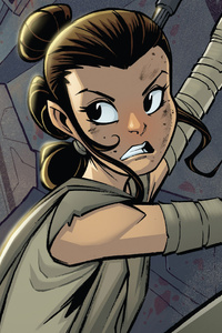 Rey Star Wars Artwork HD