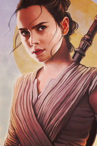 Rey Star Wars Fanart