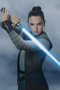Rey Star Wars The Last Jedi 4k
