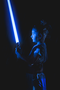 320x480 Rey Star Wars The Last Jedi Cosplay