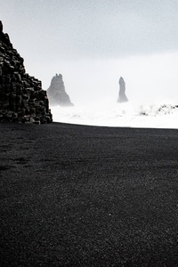 1440x2960 Reynisfjara Iceland 5k