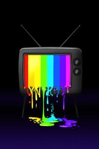 320x480 Rgb Tv Minimal 5k
