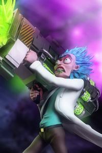 Rick 4k Art