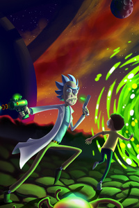 Rick And Morty 5k Fan Art