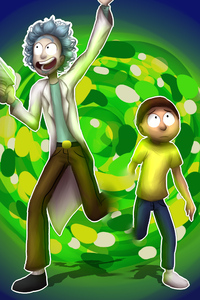 Rick And Morty Fan Artwork
