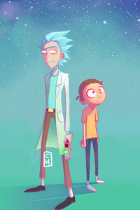 Rick And Morty Fanart 4k