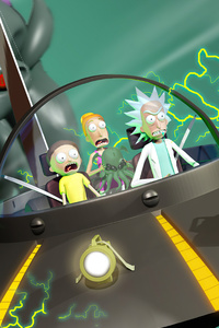 Rick And Morty In Trouble