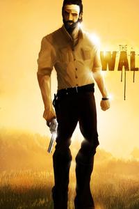 Rick Grimes The Walking Dead 5k Artwork