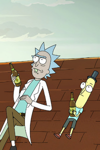 320x480 Rick Morty And Mr Poopybutthole 4k