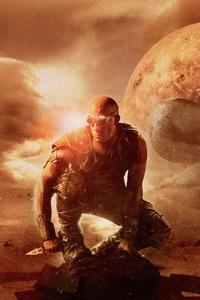 240x320 Riddick Vin Diesel 12k