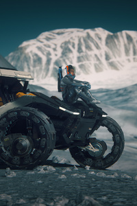 Ride On Yela Star Citizen 4k