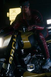 Rider Cyberpunk 2077