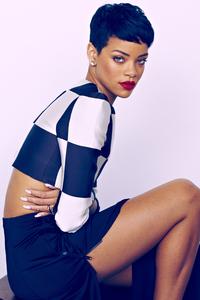 Rihanna Elle Uk 4k