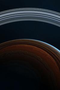 Rings Space 4k