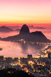 1125x2436 Rio De Janeiro Sunrise 4k