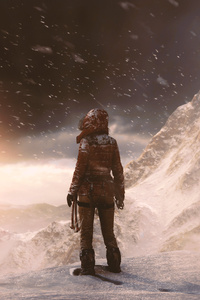 640x960 Rise Of The Tomb Raider 5k